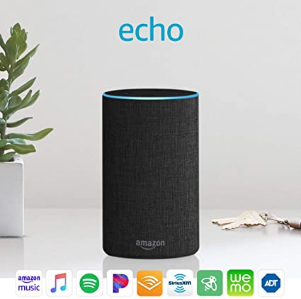 Amazon Echo (2nd generation) — Alexa Speaker