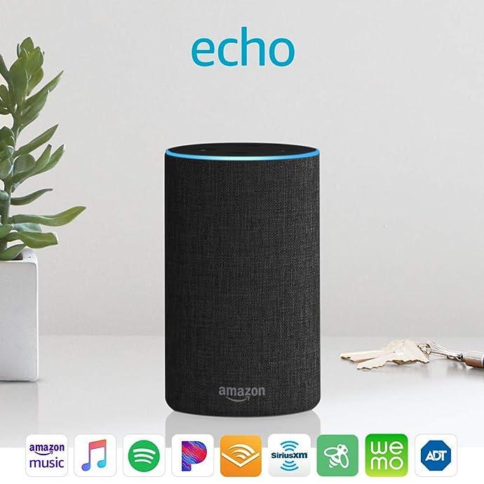 限Prime会员 Echo 第2代智能音箱 5折$49.99 四色可选 海淘转运到手约¥419