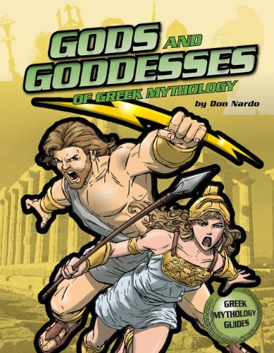 The Gods and Goddesses of Greek Mythology (Ancient Greek Mythology ...