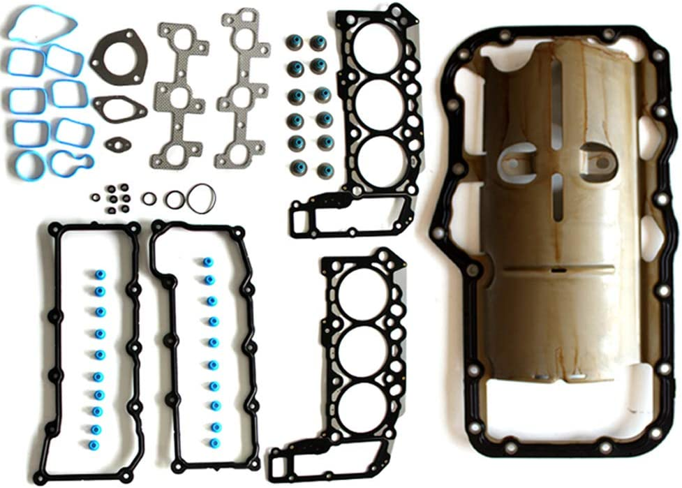 Aintier Automotive Replacement Head Gasket Oil Pan Gasket Sets Fits for Dodge Ram 1500 3.7L Jeep Grand Cherokee 3.7L