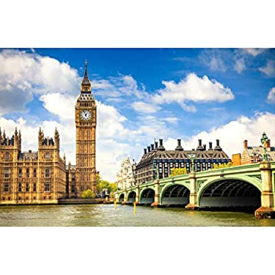 The Big Ben Jigsaw Puzzle 1000 Pieces Puzzles for Adults Kids Best Jigsaw Puzzle Best Choice for Home Games Assembling Games Educational Toys Games Jigsaw Puzzle: Toys & Games
