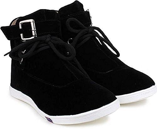 Black Color Suede Long Shoes/Boot