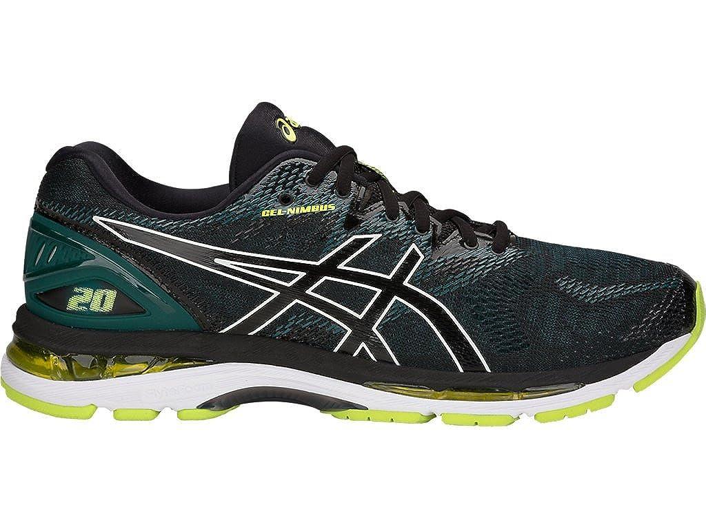 choose clearance offer best authentic ASICS Gel-Nimbus 20 Men's Running Shoe, Black/Neon Lime, 11 D(M) US