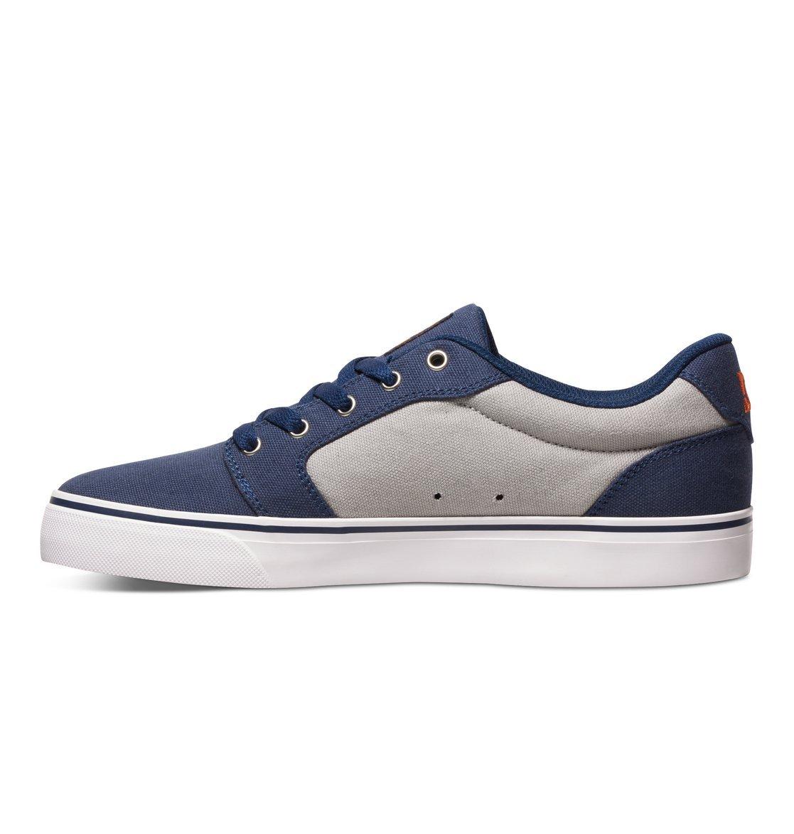 DC Shoes Mens Shoes Anvil Tx US 6 Men Blue Navy//Orange US 6 // UK 5 // EU 38 Low-Top Shoes