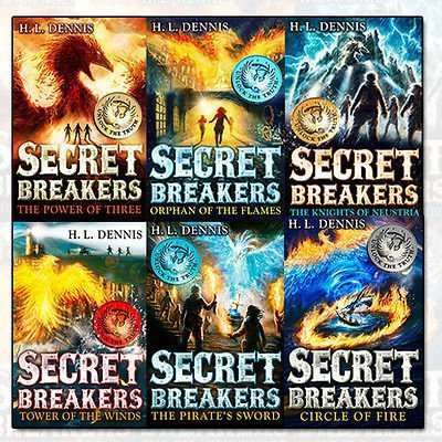 Download H L Dennis Secret Breakers Collection 6 Books Bundle (1: The Power of Three,2: Orphan of the Flames,3: The Knights of Neustria,4: Tower of the Winds,5: The Pirate's Sword,6: Circle of Fire) pdf