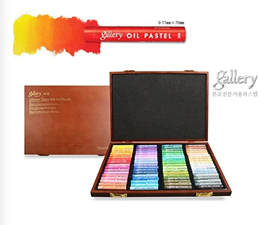 24 X BOX INSCRIBE GALLERY OIL PASTELS ART//ARTIST SUPPLIES DRAWING ASSORTED COLOR
