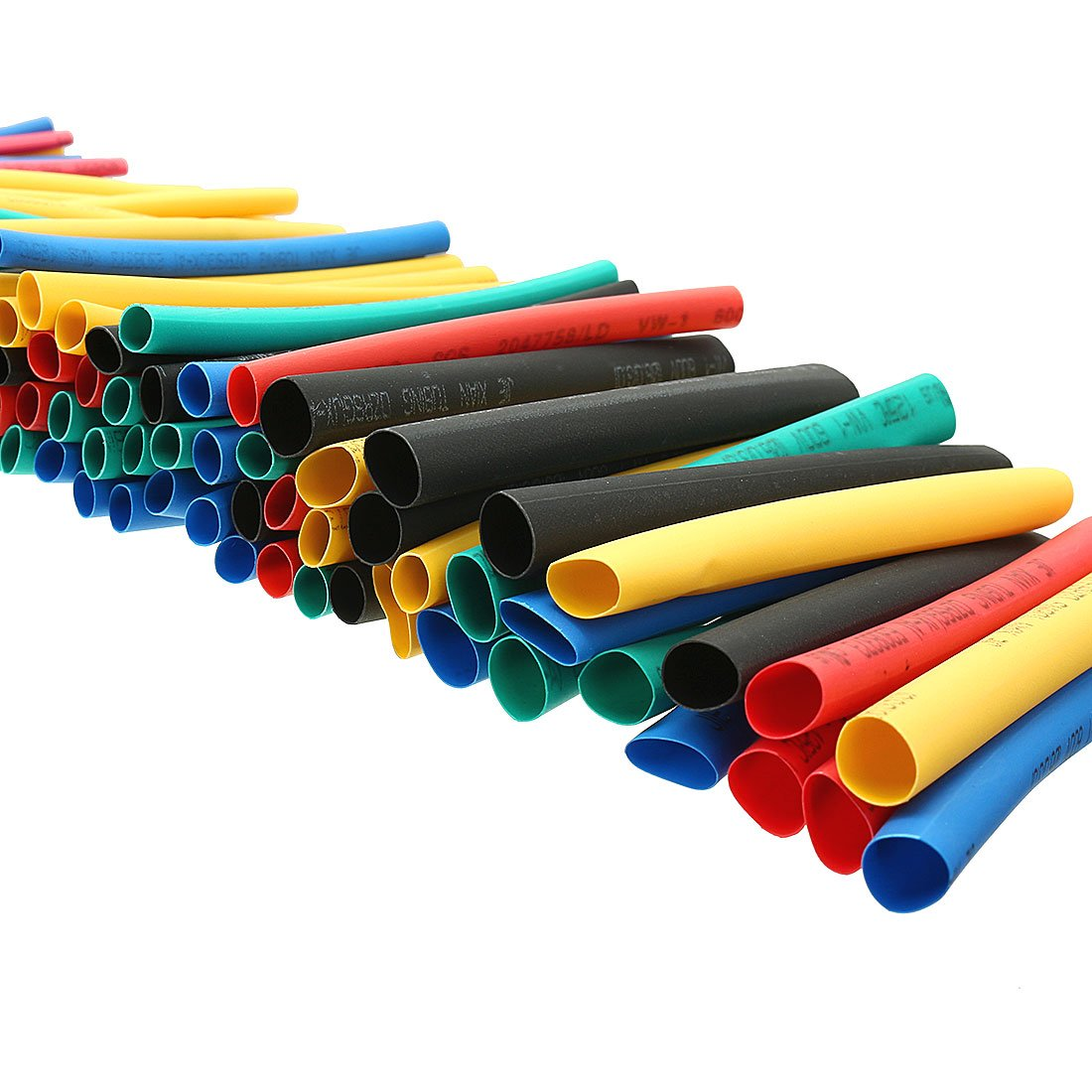 uxcell 410Pcs 2:1 Heat Shrink Tubing Tube Sleeving Wire Cable 5 Color 10 Sizes by uxcell (Image #6)