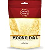 Moong Dal 4 LBS (Mung Split Dry Beans) ~ Indian Golden Lentils ~ 100% Natural & Pure - by Spicy World