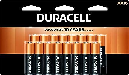 Amazon.com: Duracell - Pilas alcalinas AA CopperTop ...