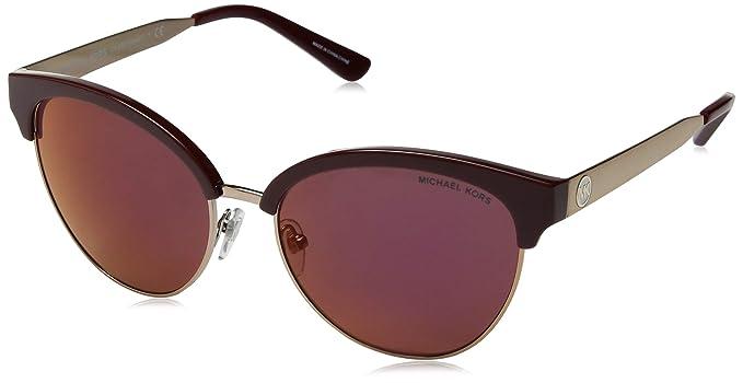 0c846bdd0252 Michael Kors Amalfi MK2057 MK/2057 3307D0 Merlot/Sable Cat Eye Sunglasses  56mm