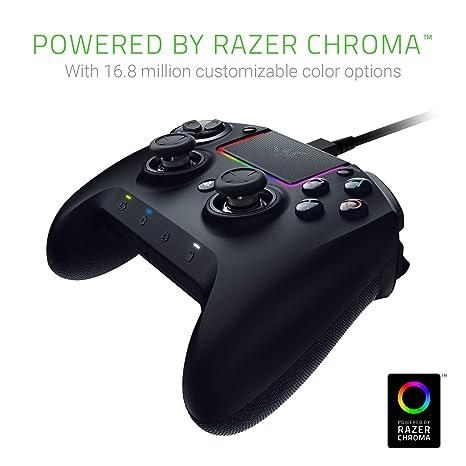 Razer Raiju Ultimate Controlador inalámbrico y con cable para juegos (con botones de acción táctiles Mecha, piezas reemplazables, panel de control rápido e ...