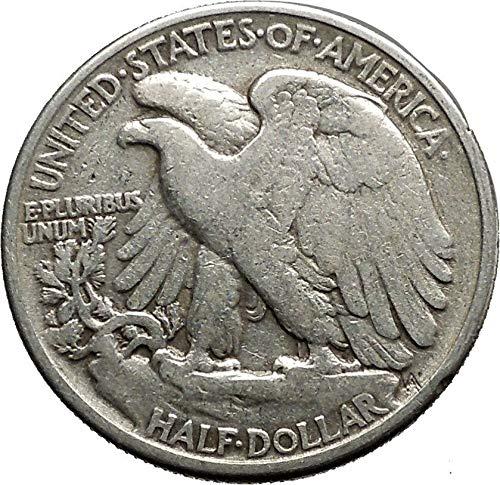 Year Set of Walking Liberty Silver Half Dollars 1943 1943-D 1943-S Fine
