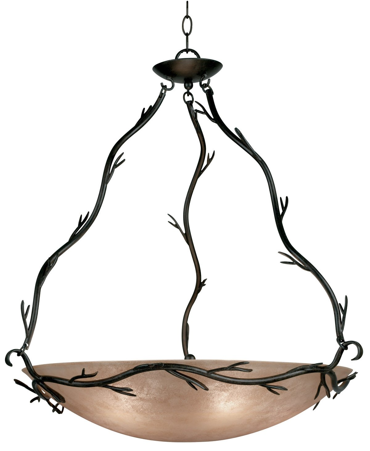 Kenroy Home 90904BRZ Twigs 5 Light Pendant, Bronze Finish by Kenroy Home
