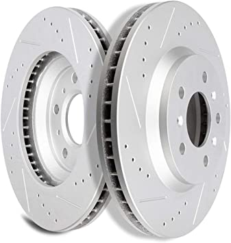 FRONT KIT OE REPLACEMENT BRAKE ROTORS for Lucerne Impala Limited Monte Carlo