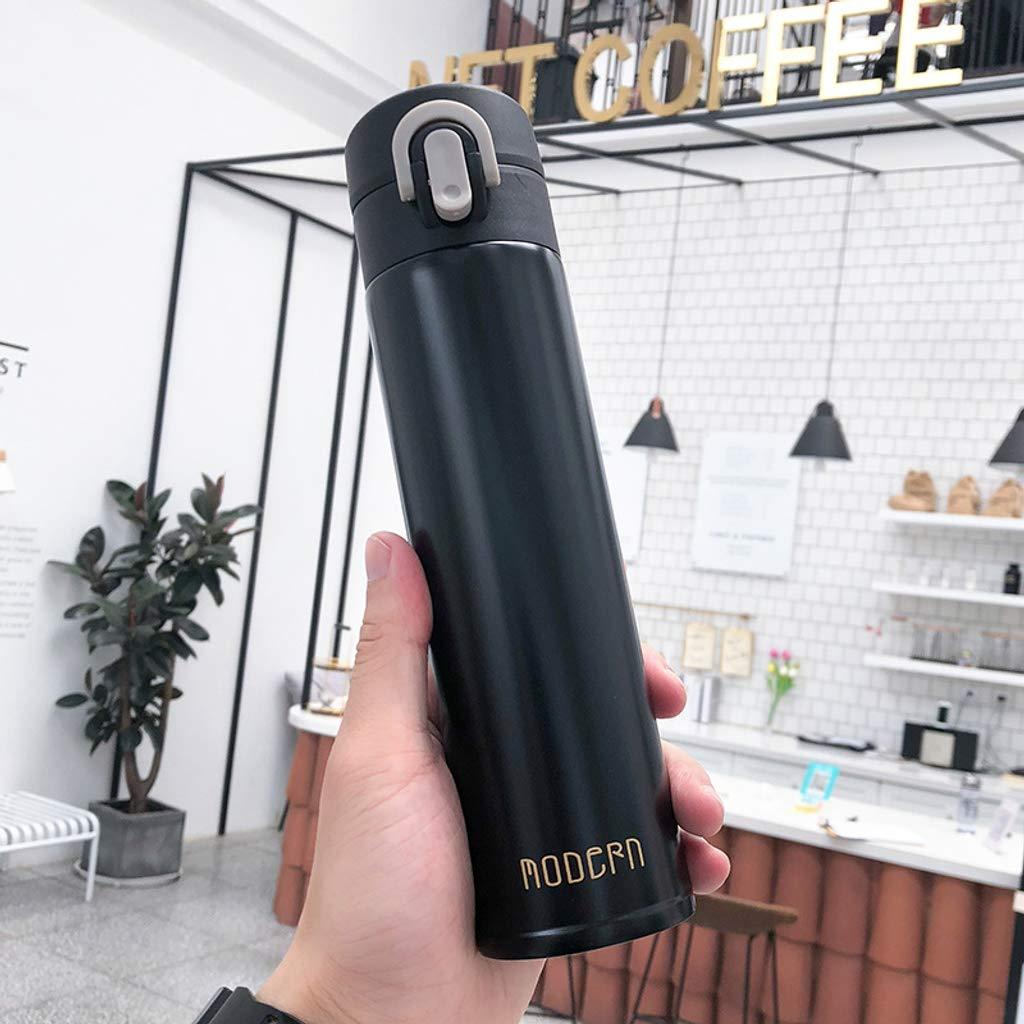 CLGTY Botella de Agua Pared Doble Sin BPA Vacío Aislada ...