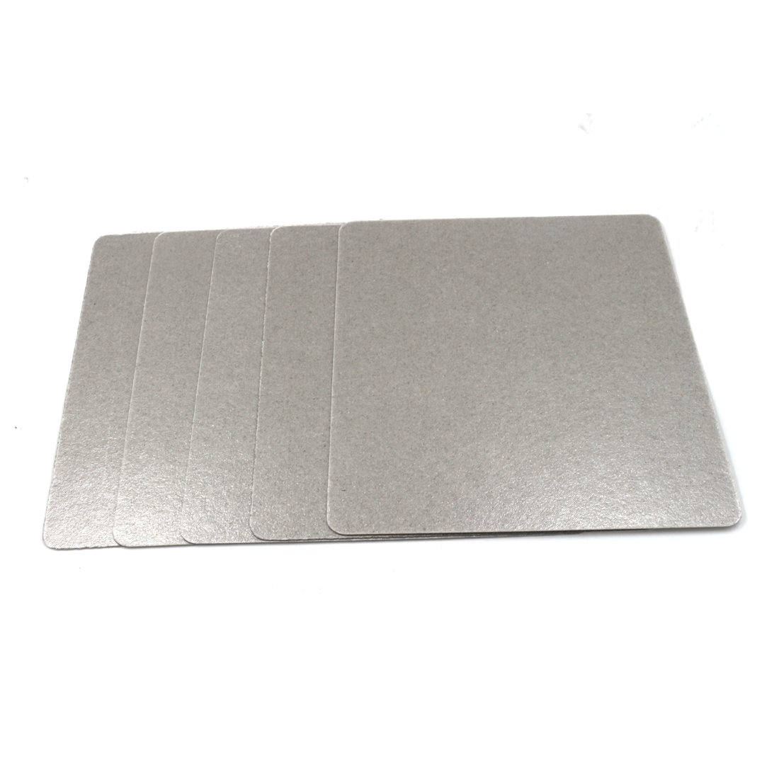 """5 Pcs 5.9"""" x 4.7"""" Microwave Oven Repairing Part Mica Plates Sheets"""