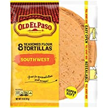 Old El Paso Southwest Seasoned Flour Tortillas, 8 ct