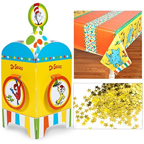 Dr Seuss Table (Dr. Seuss Favorites Party SuppliesTable D�cor)