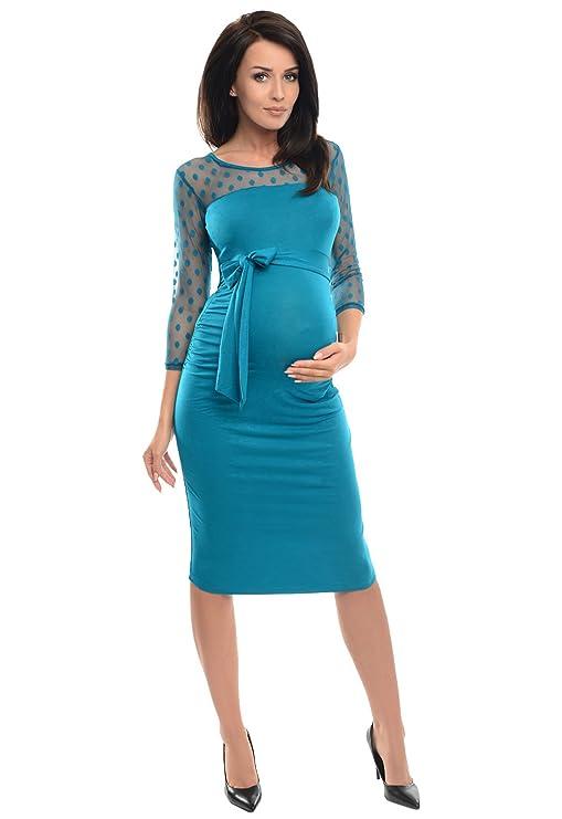 Vestido de Embarazo de Encaje