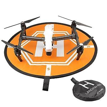 dron bajos Espacio, lommer 80 cm Quadcopter Fast-Fold Landing Pad ...