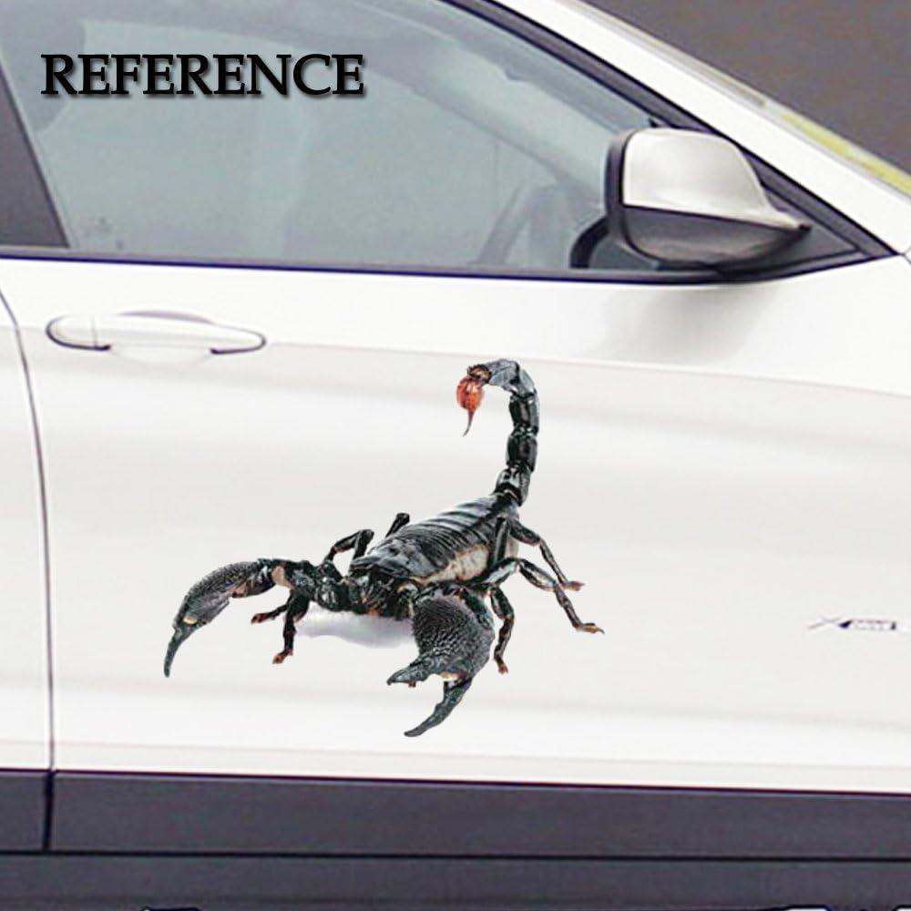 """17/"""" X 13/"""" Scorpion Crafts Waterproof Car Engine Bumper Hood /& Door Vinyl Sticker"""