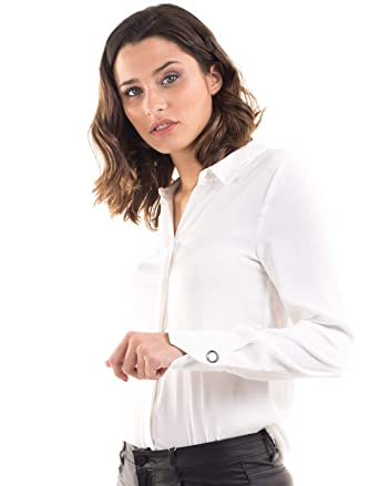 Morgan Knit Shirt co Clothing White Toi 36 white uk Amazon De rIw1RqxEr