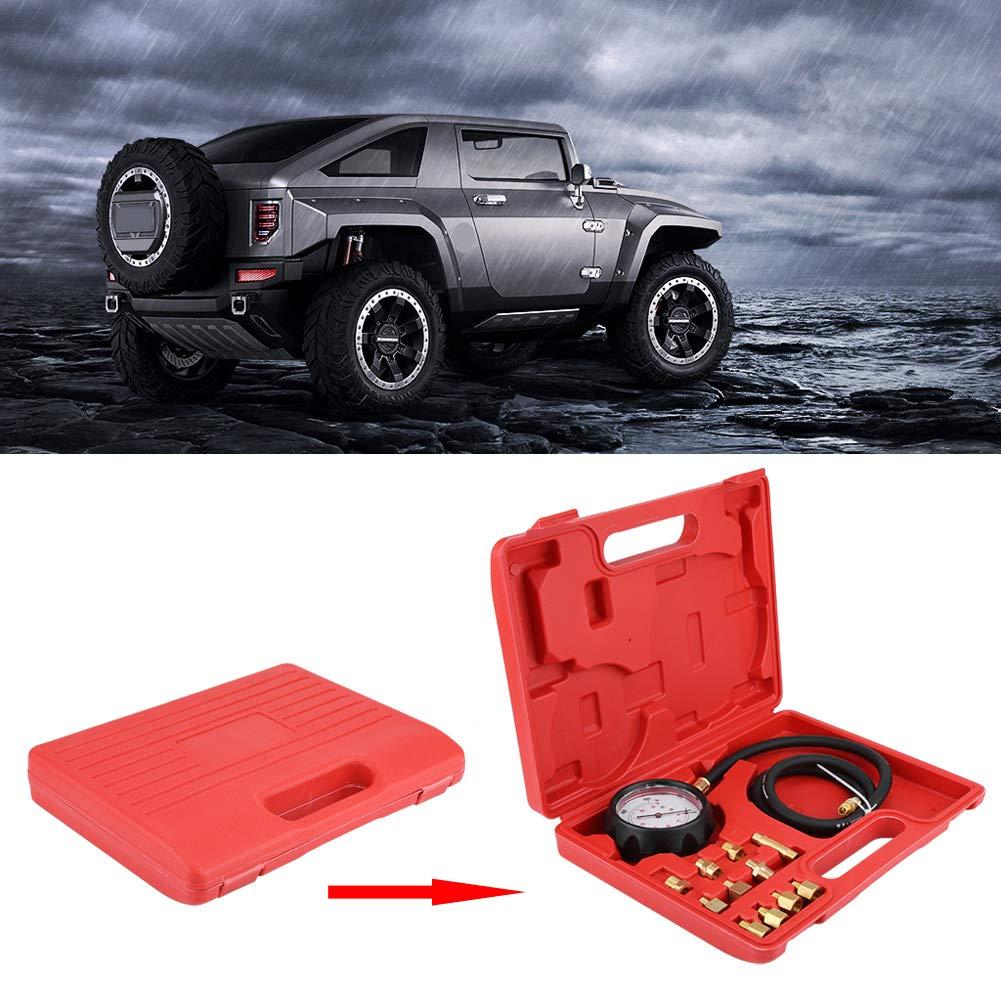 KIMISS TU-11A Kit de indicador autom/ático de la presi/ón de Combustible del Aceite del Motor de la transmisi/ón de la Caja de Engranajes 500 PSI