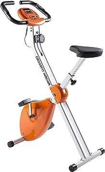 HomeASTAN Bicicleta Estática Plegable Portátil Crossfit con Chasis ...