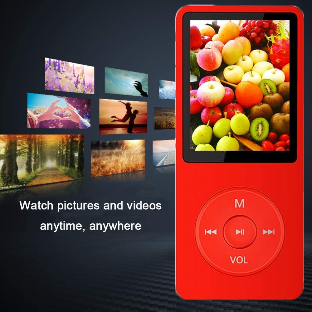 Supports up to 128GB Build-in Speaker/Photo/Video Play/FM Radio ...