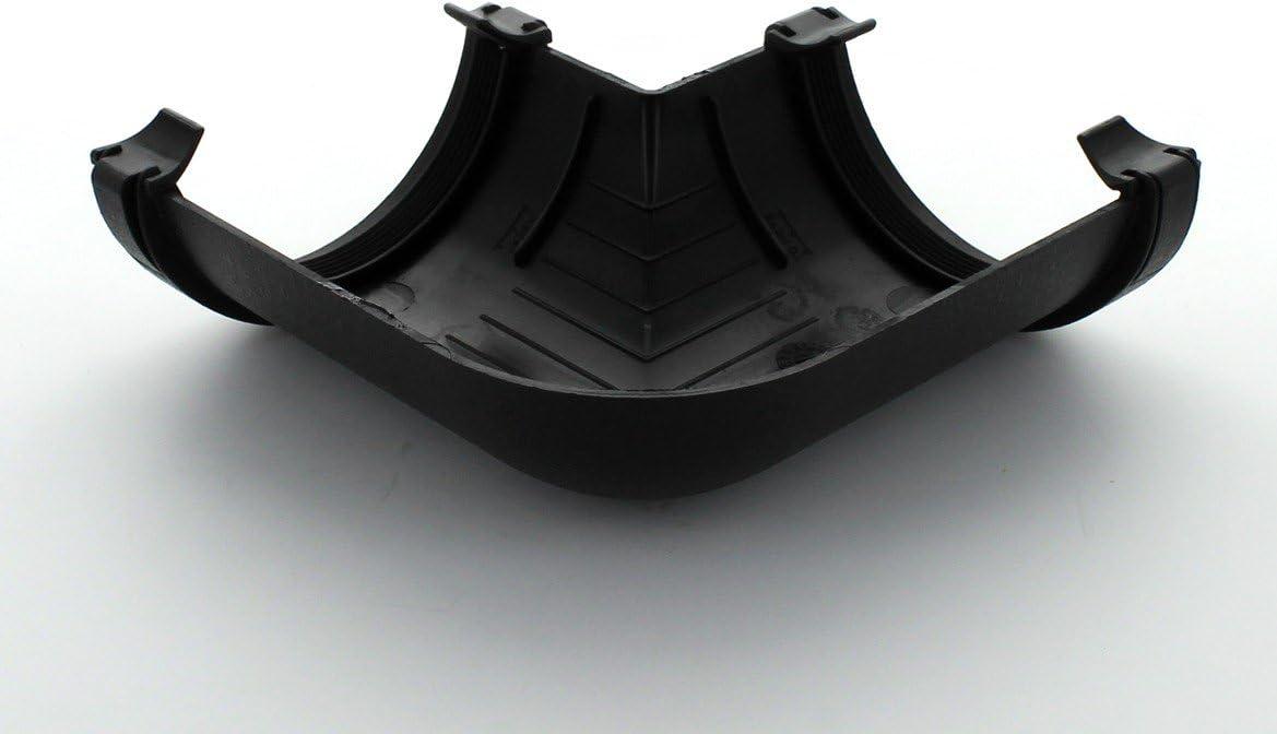 Cast Iron Effect 90 Degree Gutter Angle