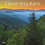 Great Smokies 2019 12 x 12 Inch Monthly Square Wall Calendar, USA United States of America Scenic Nature Mountain