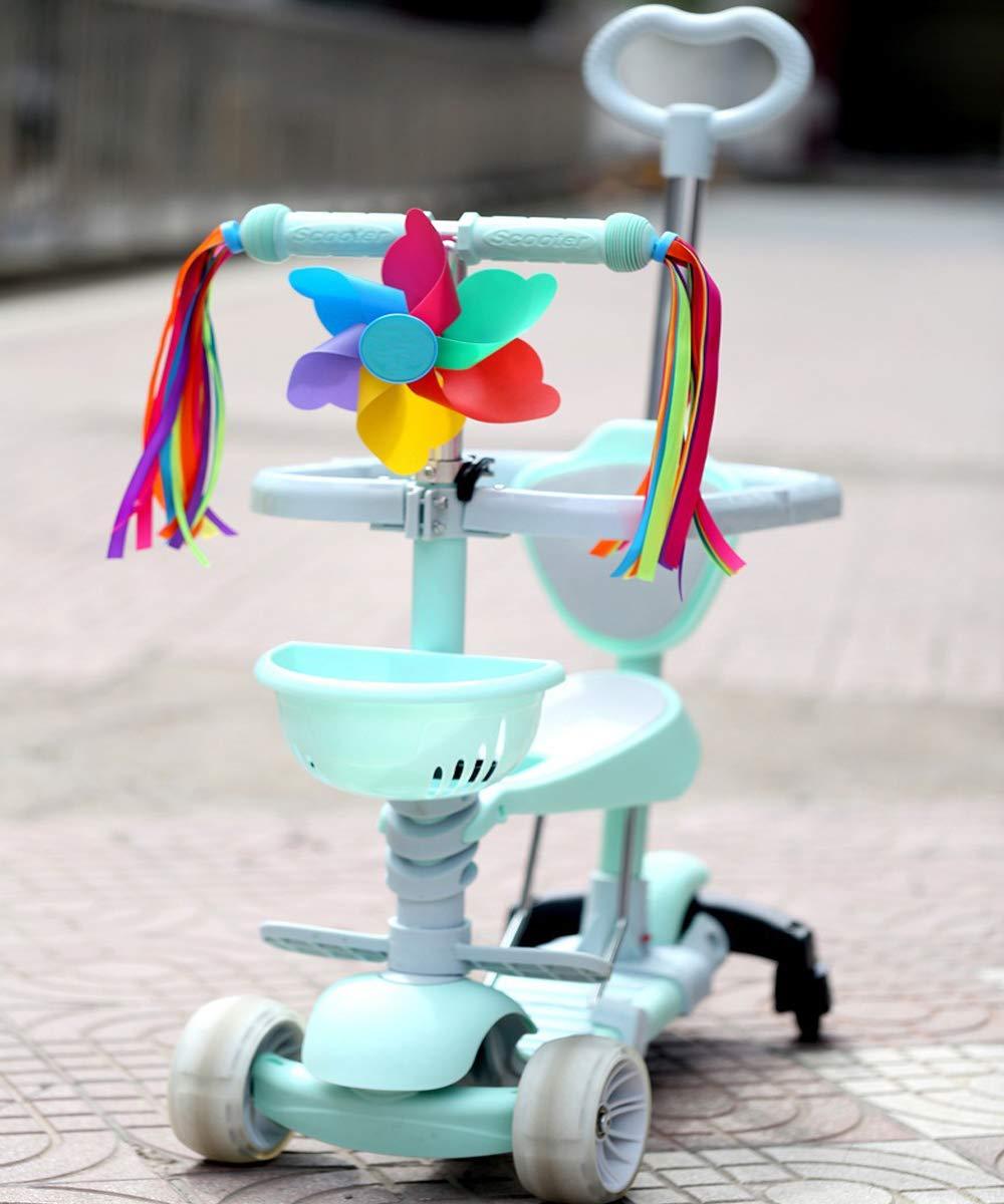 Plastic Kids Trike Bike Bicycle Tricycle Handlebar Windmill