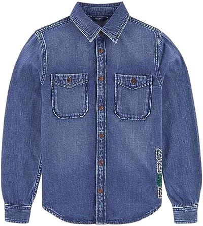 Pepe Jeans - Camisa Colin - Camisa DENIN NIÑO: Amazon.es: Ropa y accesorios