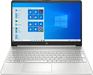 "HP 2020 15.6"" HD Touch Screen Laptop Notebook Computer, 4-Core AMD Ryzen 5-3500U 2.0GHz, AMD Radeon Vega 8, 12GB RAM, 256GB SSD, No DVD, Webcam, Bluetooth, Wi-Fi, HDMI, Windows 10 S, Bonus Accessories"