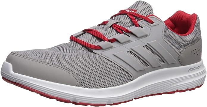 Adidas Galaxy 4 M, Zapatillas de Entrenamiento para Hombre, Rojo Granito Claro, 45 EU: Amazon.es: Zapatos y complementos