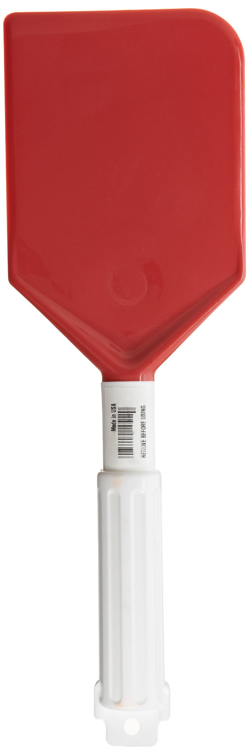 Carlisle 4035005 Red 13-1/2-Inch Sparta Spatula with Plastic Handle (Case of 6)