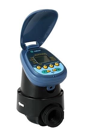 Galcon 7001d 1-station funciona con pilas Controlador con válvula de 3/4 de pulgada: Amazon.es: Jardín