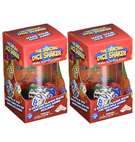 The Dancing Dice Shaker (Large) (2 Pack)