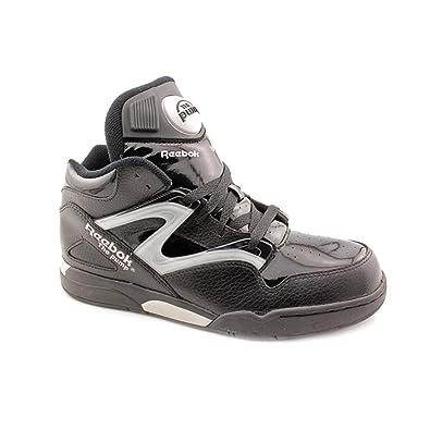 c63cd899e488 Reebok Pump Omni Lite Youth Boys Black Leather Basketball Shoes Size UK 6   Amazon.co.uk  Shoes   Bags