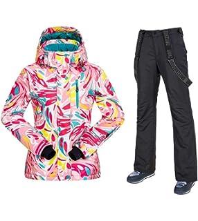 Amazon.com: Crivit – Traje de esquí para mujer chamarra + ...