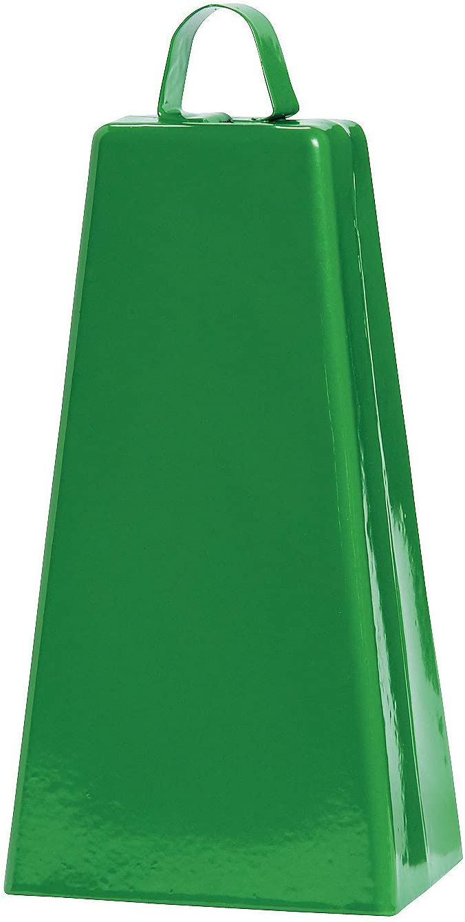 pc Green Jumbo Cowbell Spirit Noisemakers Noisemakers 1 Piece - Toys Fun Express