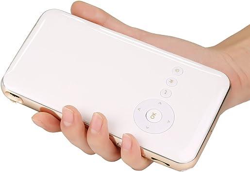 Stoga Mini Proyector de Bolsillo LED Android 4.4 WiFi 1080P HD ...