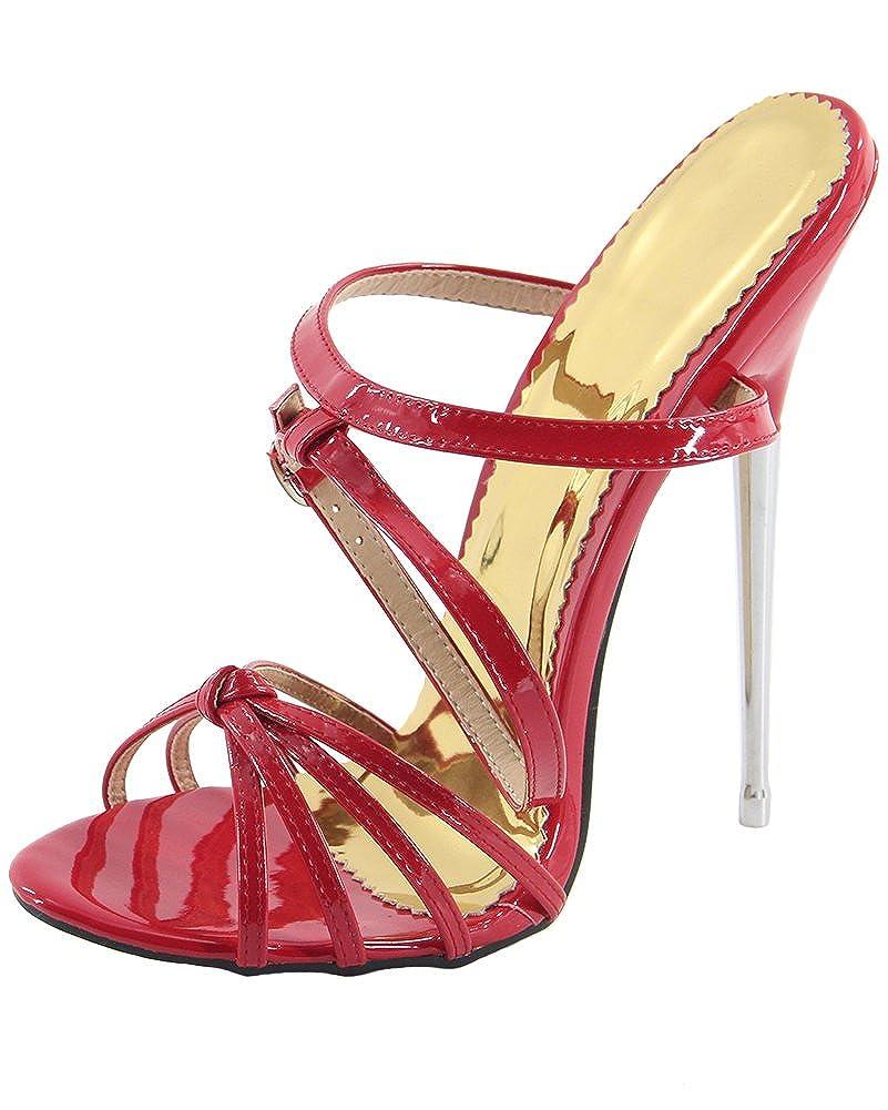 WONDERHEEL Damen Fetisch Fetisch Fetisch Ankle Straps Sandalen - 184bc2