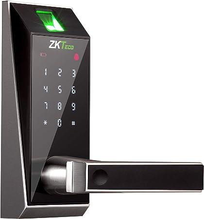 Cerradura Inteligente & Biométrica - ZKTeco AL20DB (GER) - Smart Lock con lector de Huellas Dact...