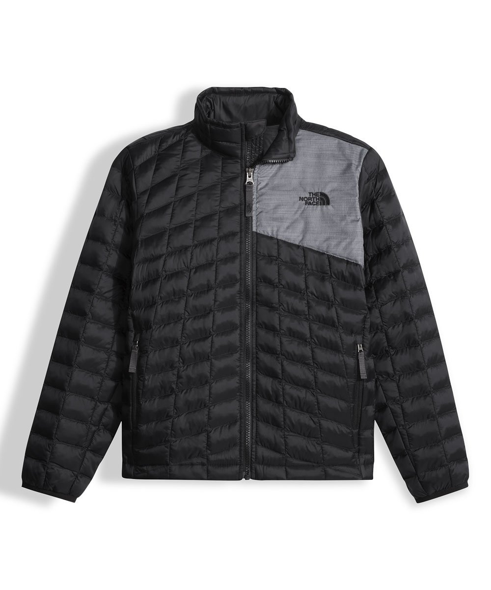 The North Face Little Boys' Thermoball Full Zip Jacket - black, xxs/5 by The North Face