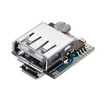 Hjhjghj 5pcs 5V Cargador de batería de Litio Step Up ...