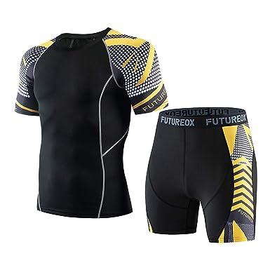 Chándal de Gimnasia para Hombre Camiseta Top Hombre Deporte ...