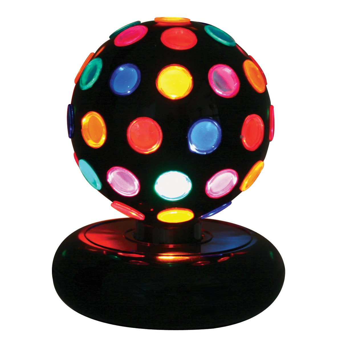 lumisource ls disco 6m color rotating ball disco lamp amazon com