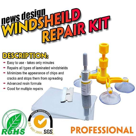 RongYooo - Kit de reparación para Parabrisas de Coche ...