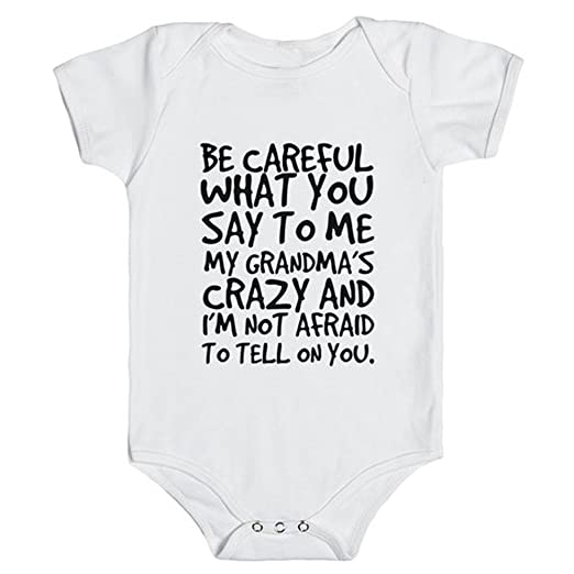 39941102fb Amazon.com: Axchrongery Newborn Infant Baby Kids Girl Boy Letter Print  Romper Jumpsuit Short Sleeve Outfits Sunsuit One Piece Clothes: Clothing